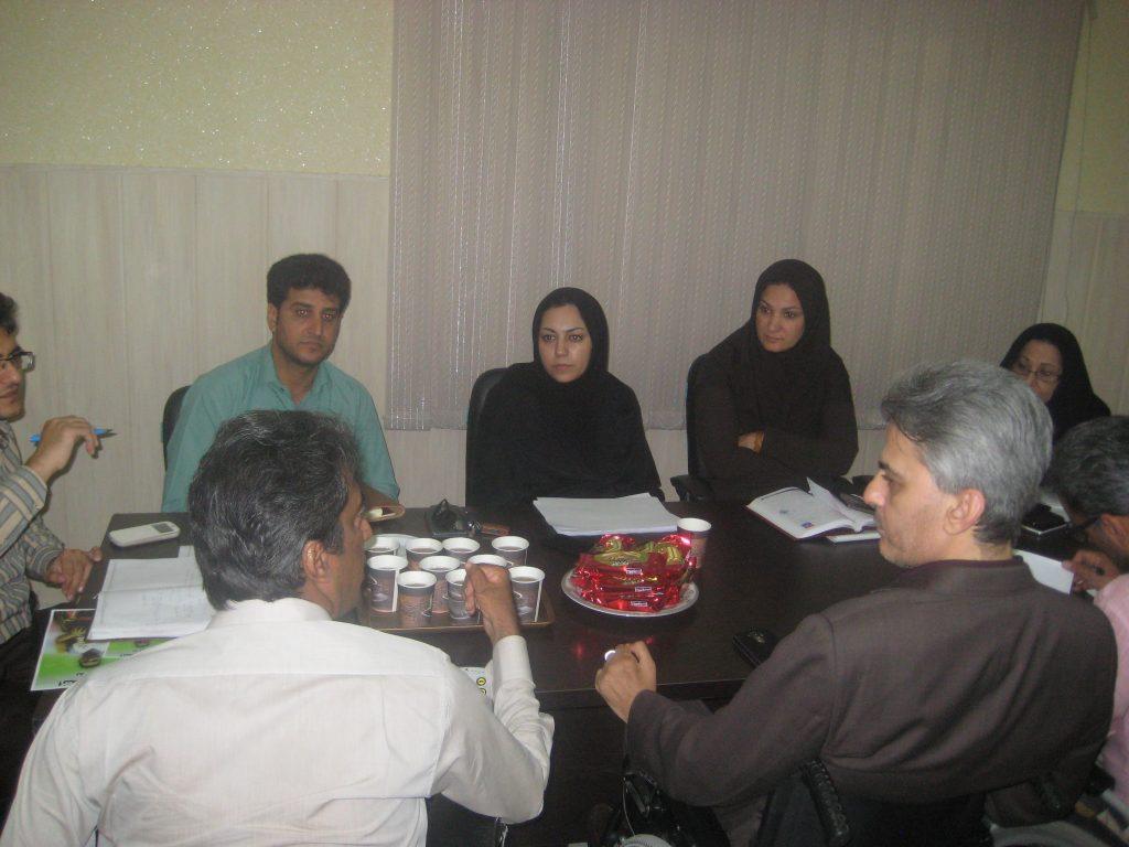 جلسه هماهنگی برگزاری مراسم 12 آذر روز جهانی معلولین